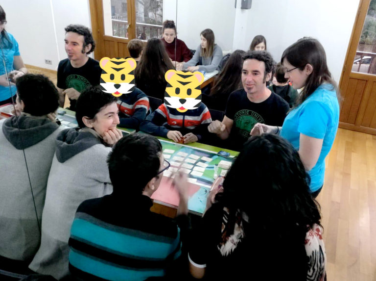 Tardes de juegos en Huarte